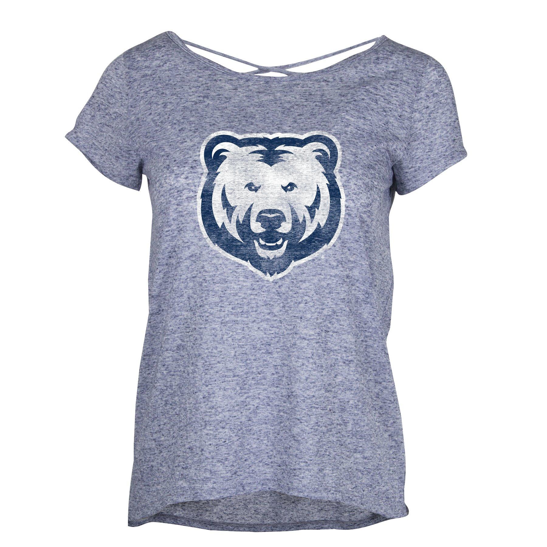 Criss Cross UNC Bear T-shirt