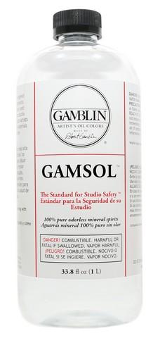 Gamsol Odorless Mineral Spirits - 33 oz (1 L)