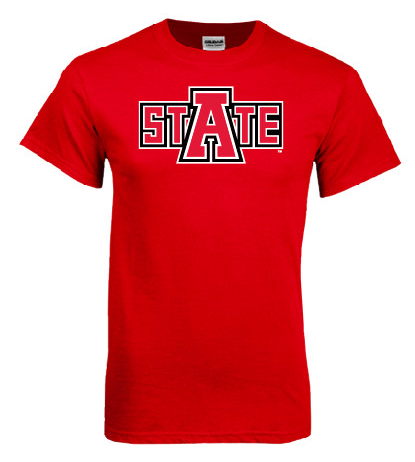 Arkansas State Basic Cotton Tee