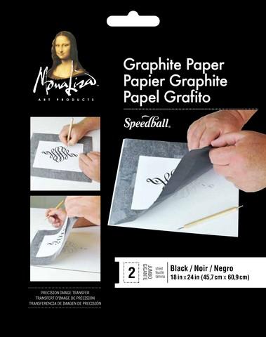 """Black Graphite Paper 18"""" x 24"""""""