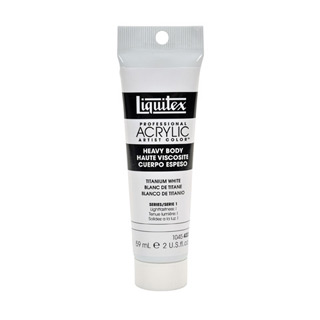 Liquitex Heavy Body Acrylic - Titanium White - 2 oz.