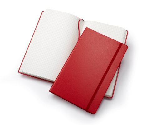 Fabio Ricci Elio Squared Red Medium Notebook