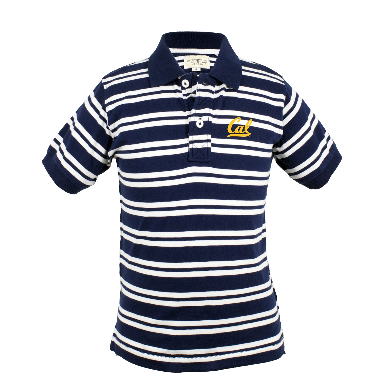 University of California Berkeley Youth Oliver Stripe Polo