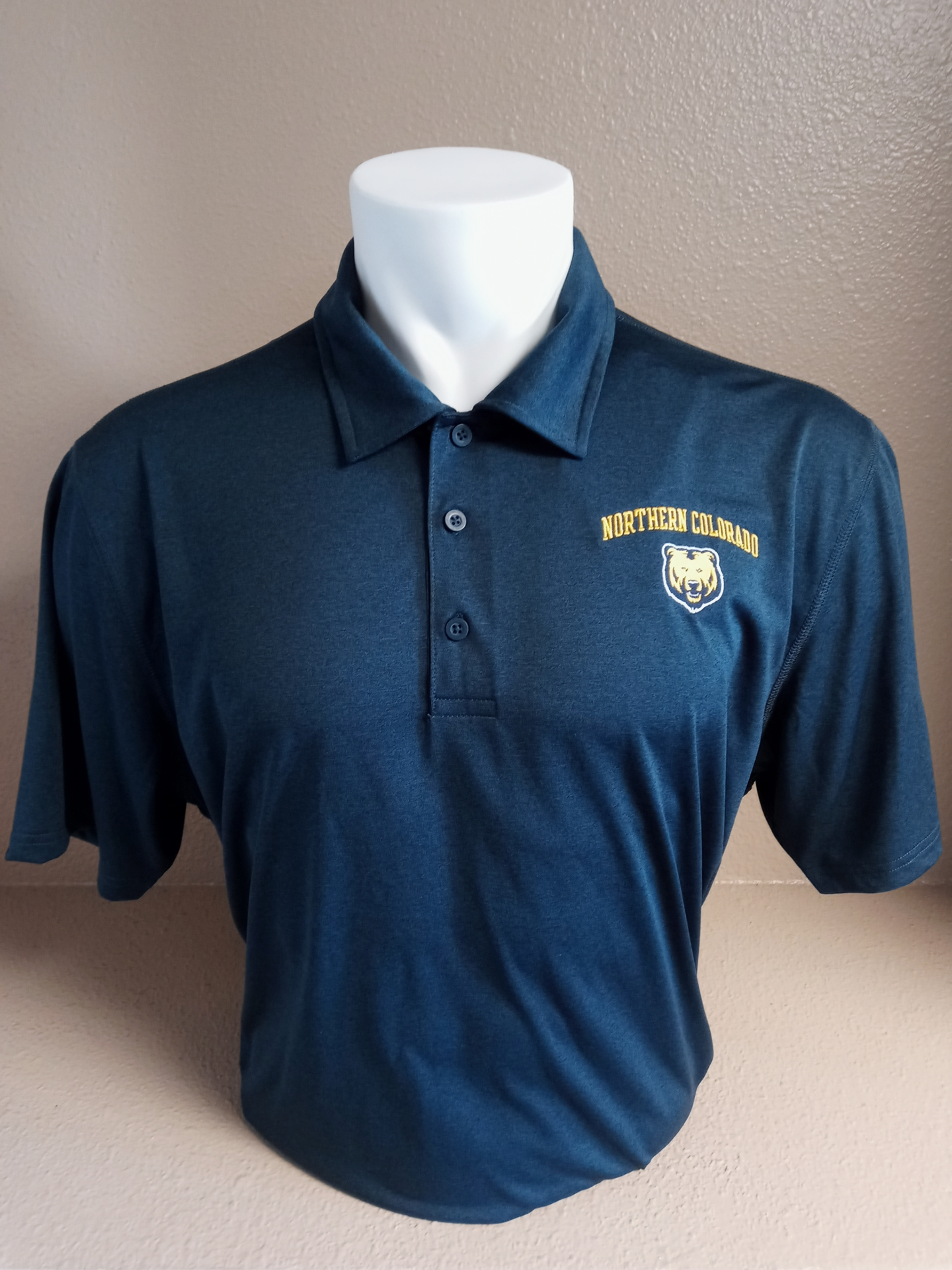 Northern Colorado Blue Polo Shirt