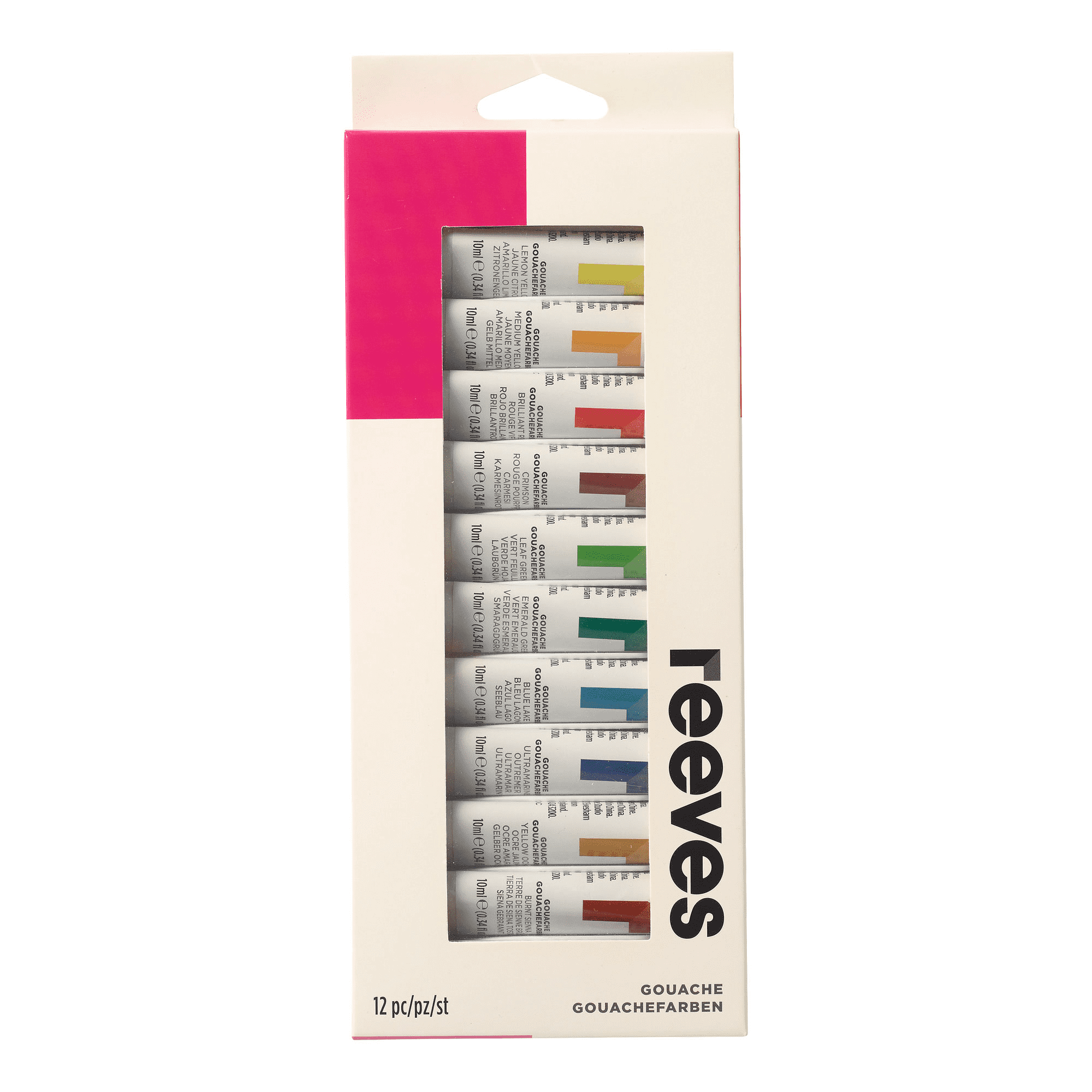 Reeves Gouache 12-Color Set