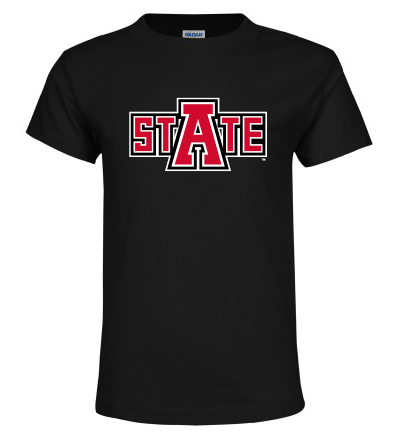 Arkansas State Basic Cotton Youth T Shirt