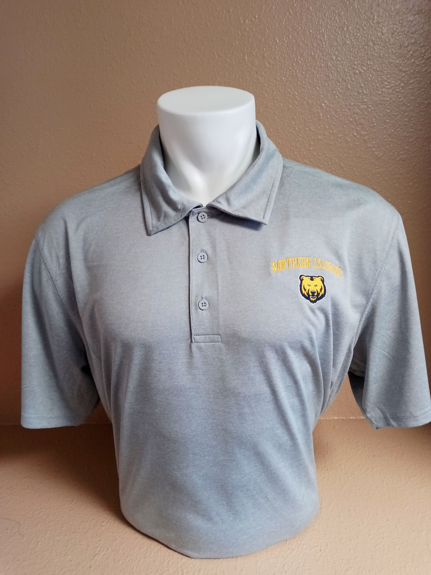 Northern Colorado Gray Polo Shirt