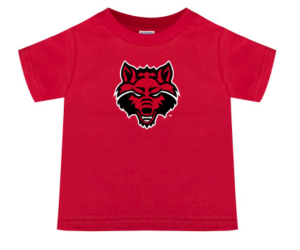 Red Wolves Basic Cotton Toddler Tee