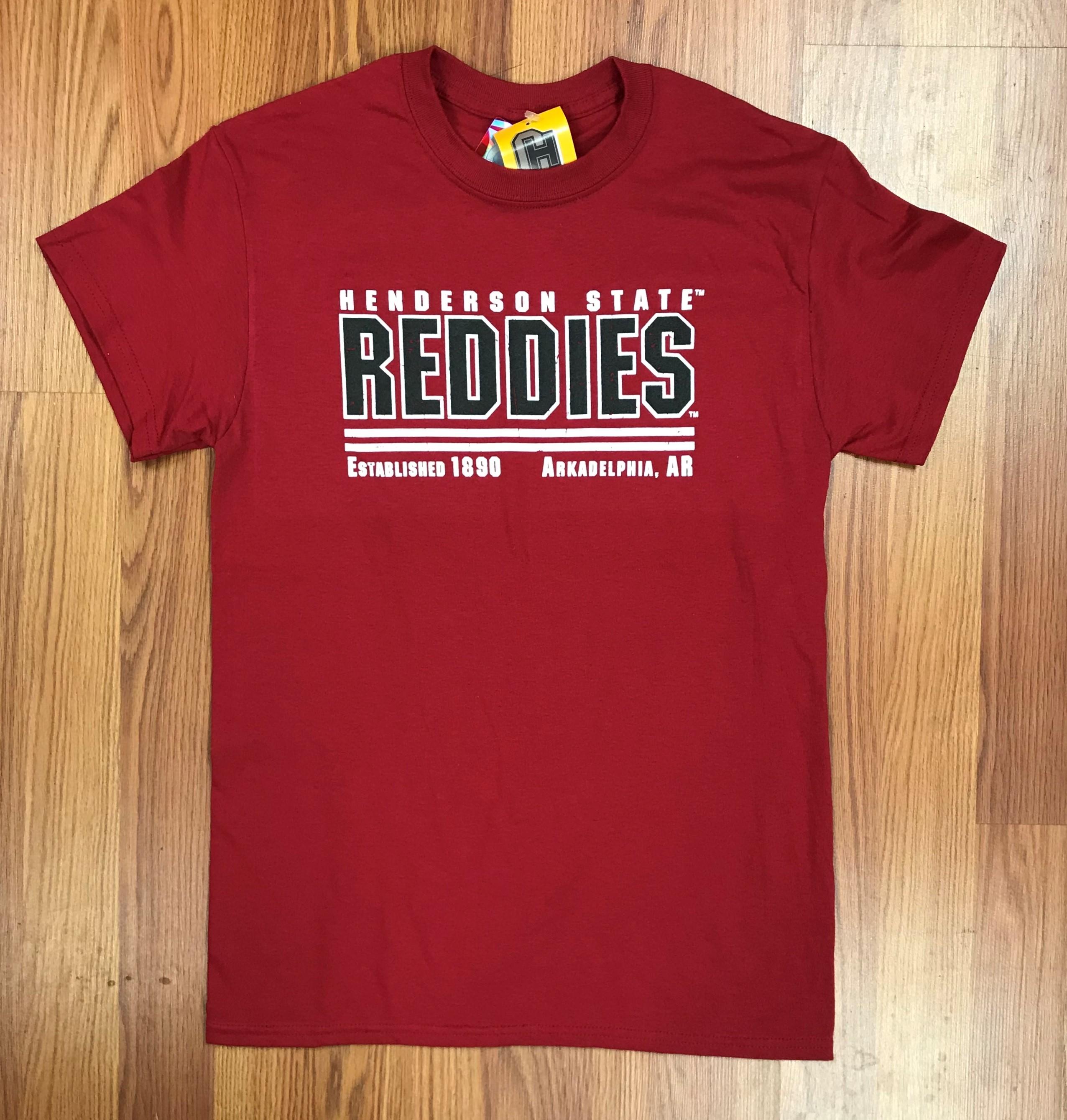 HENDERSON STATE REDDIES ARK,AR TEE