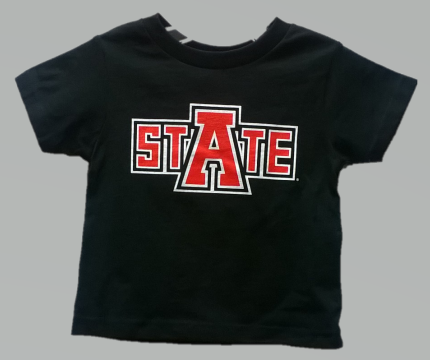 Arkansas State Basic Cotton Toddler Tee
