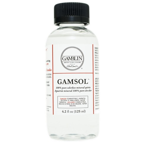 Gamsol Odorless Mineral Spirits - 4 oz.