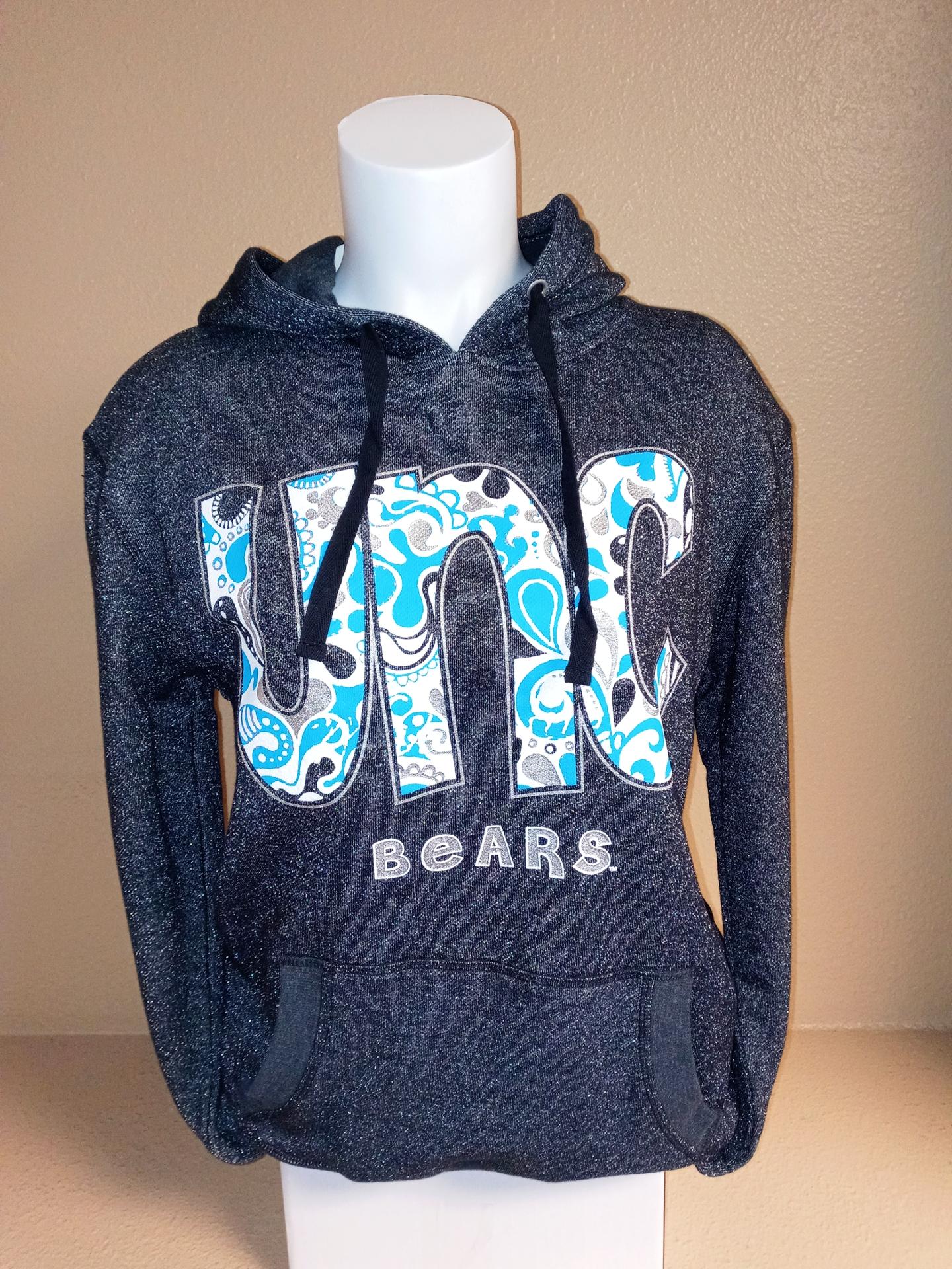 Glitter UNC Bears Sweatshirt