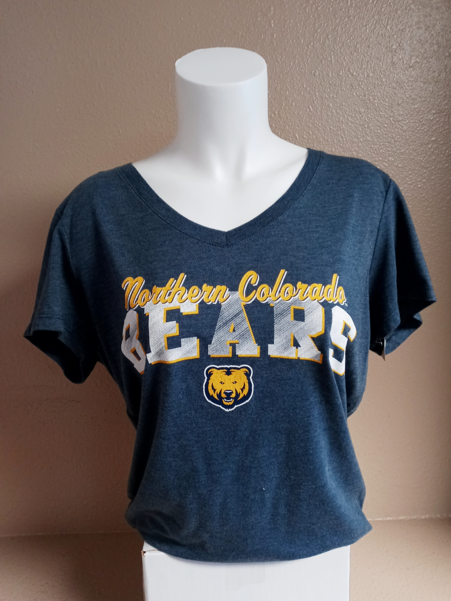 Women's NoCo Bears V-Neck Tee