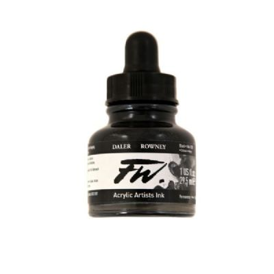 Liquid Artists' Acrylic Ink 1 oz. Black (India)