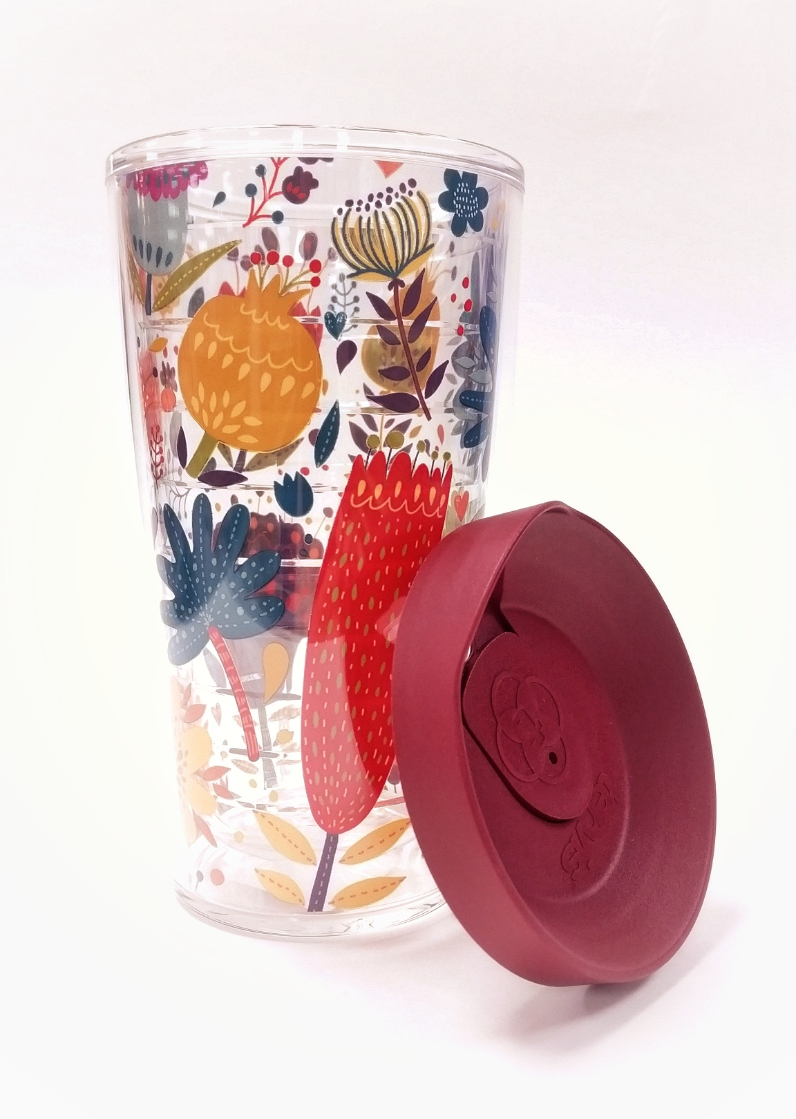 Fall Floral Tervis Tumbler