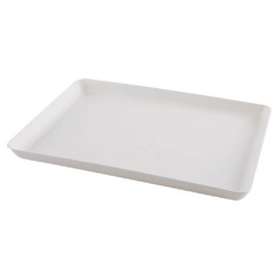 Large White Easy Peel Plastic Tray