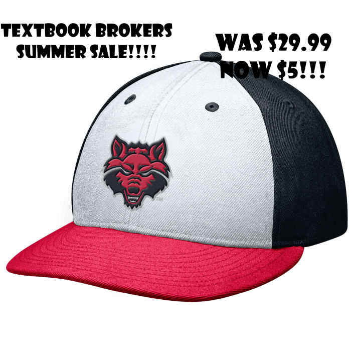 Red Wolves Flat Bill Cap