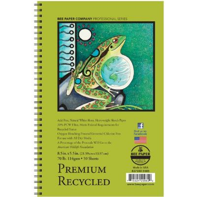 Premium Recycled Sketch Pad 8.5 x 5.5