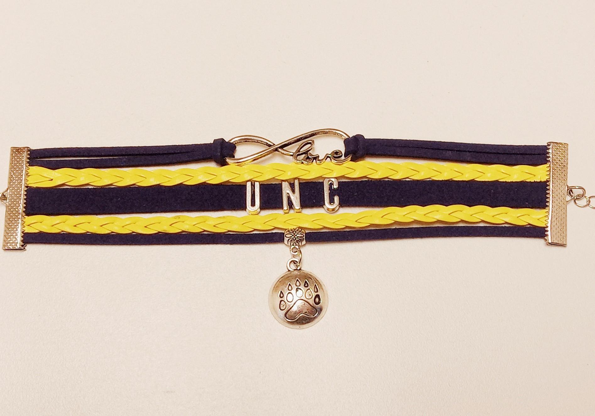 School Spirit Bracelet with Charm