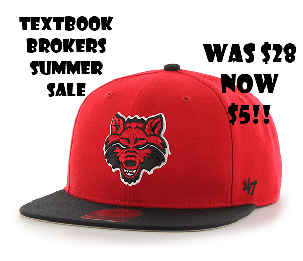 Red Wolves Sure Shot Snap Back