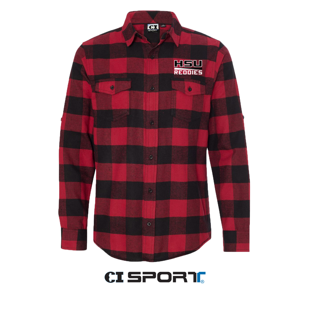 HSU Reddies Flannel