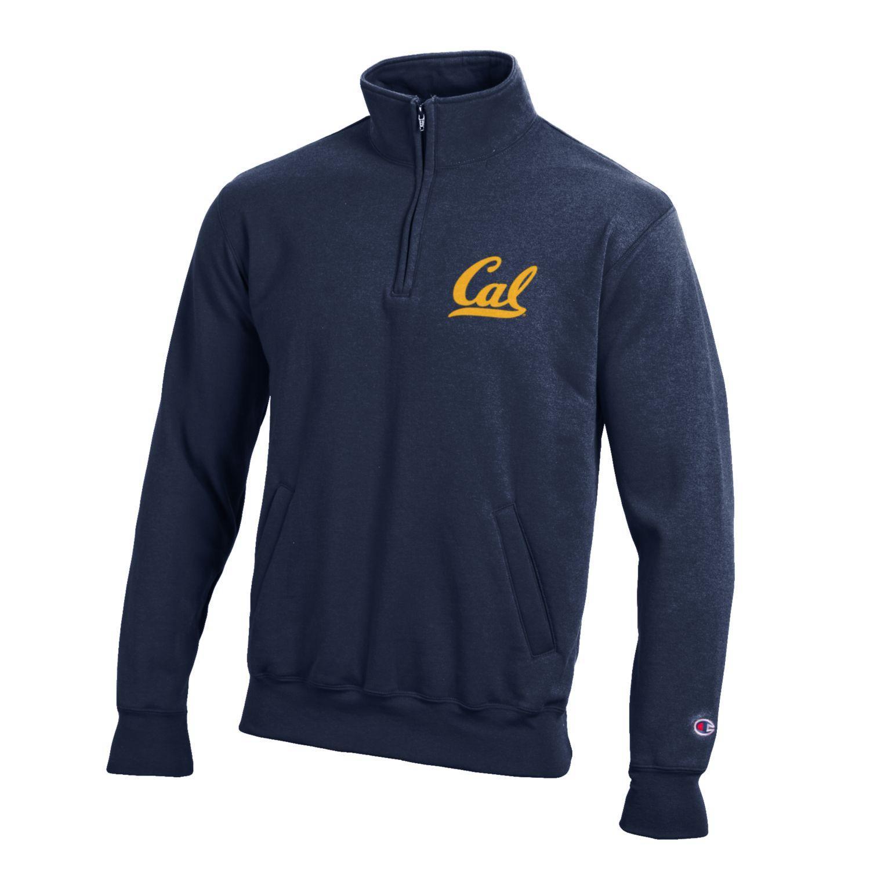 "Champion Cal Bears Powerblend 1/4 Zip ""Cal"""