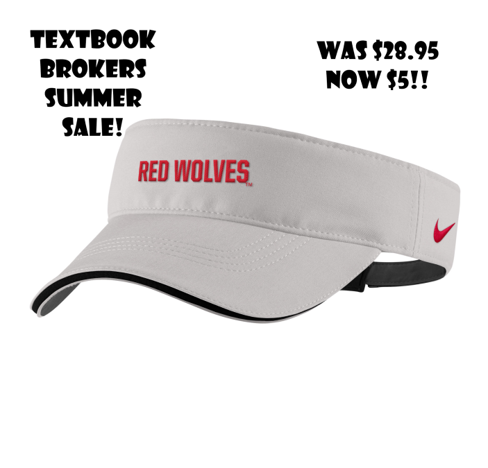 Red Wolves Golf Tech Visor