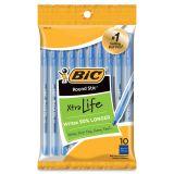 BIC Round Stic Xtra Life Ballpoint Pens