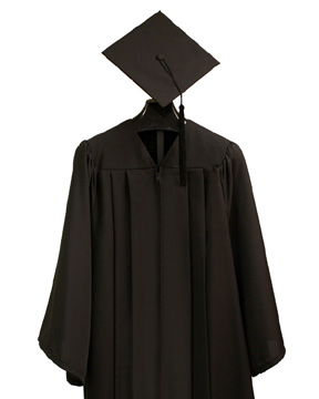 Bachelor's Cap, Gown and Tassel