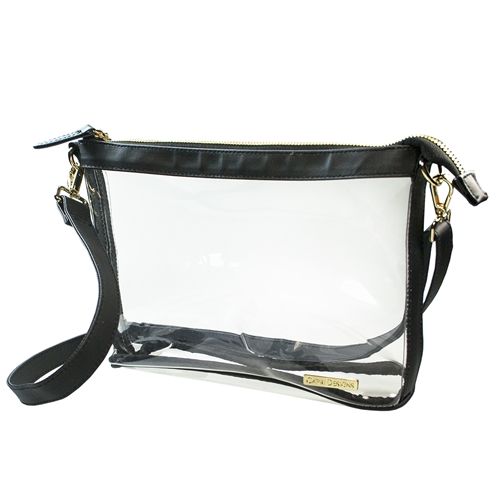 Large Crossbody - Clear PVC