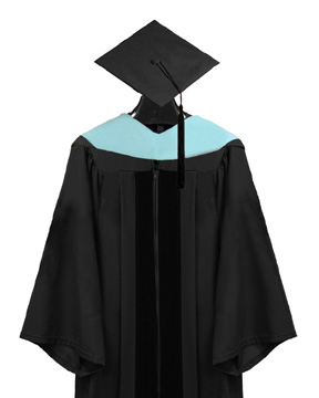 Specialist Cap, Gown, Tassel and Hood