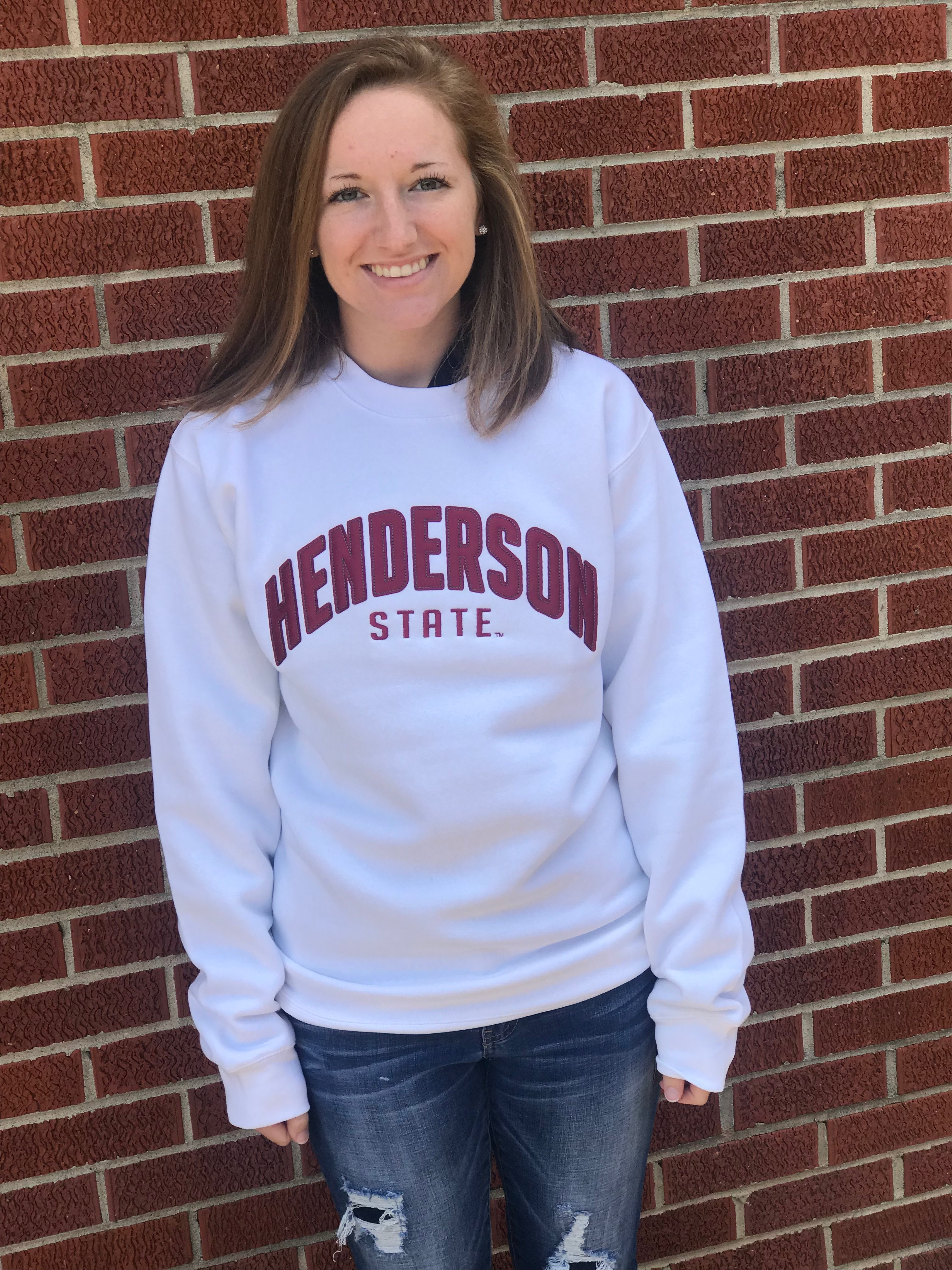Embroidered Henderson State Pullover