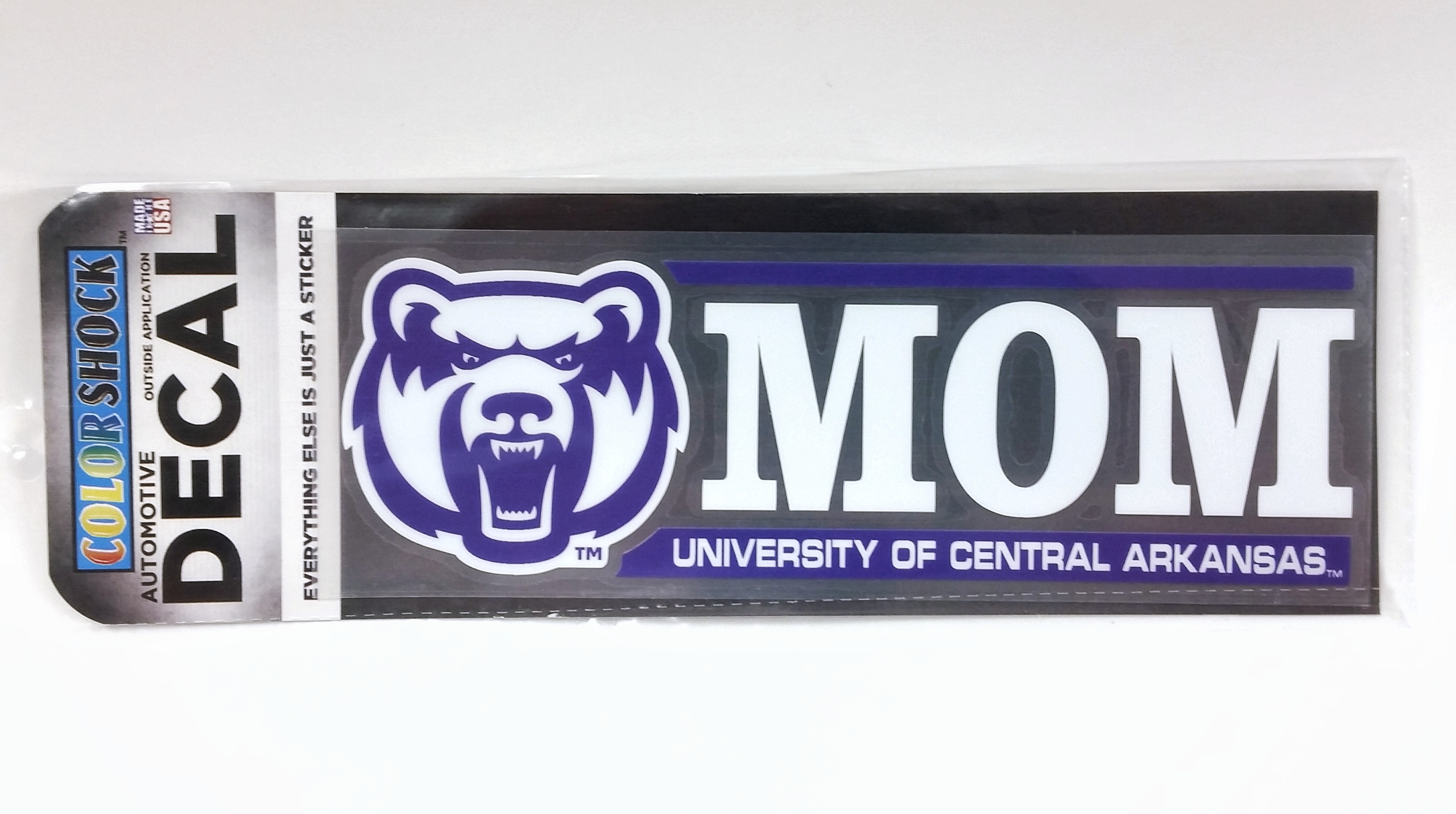 UCA Bearhead Mom Decal
