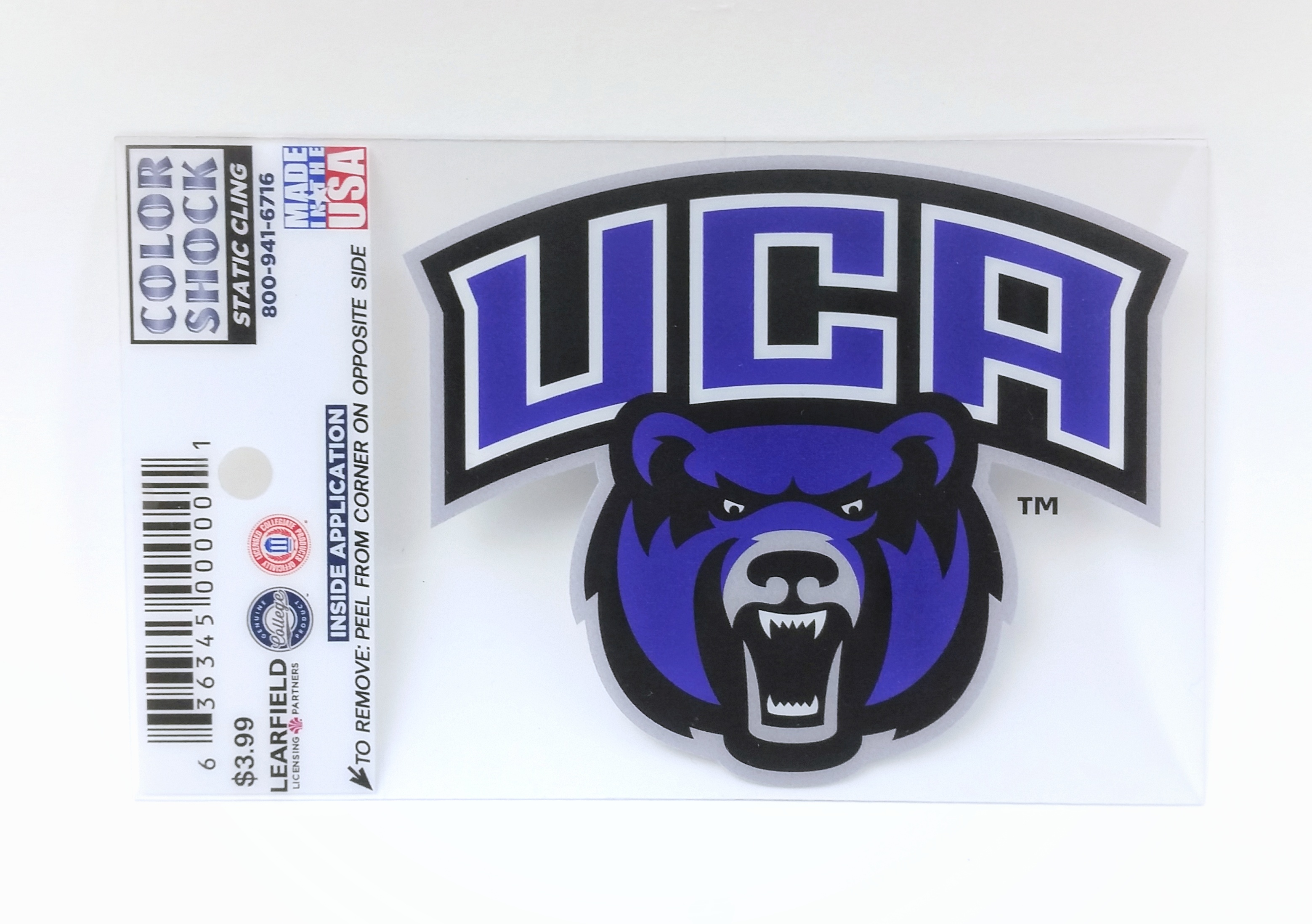 Primary UCA Decal