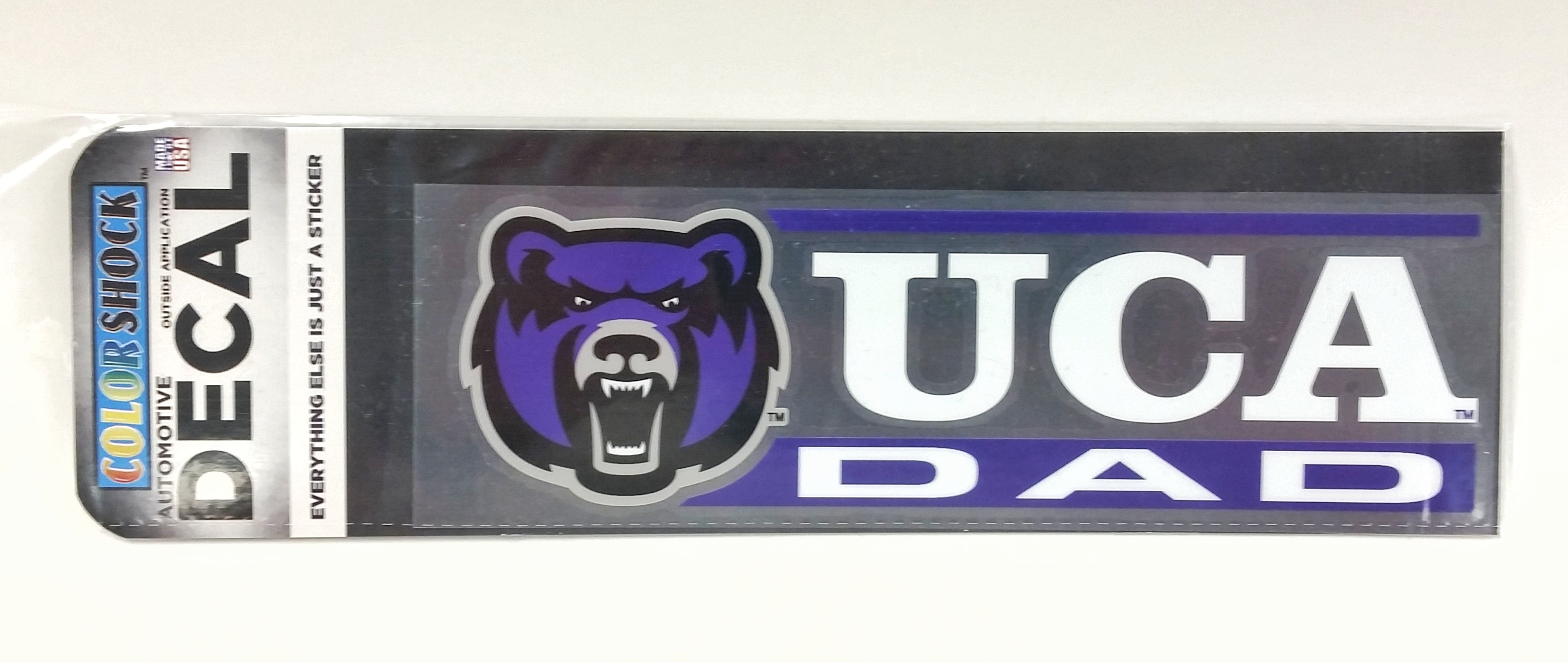 UCA Dad Colorshock Decal