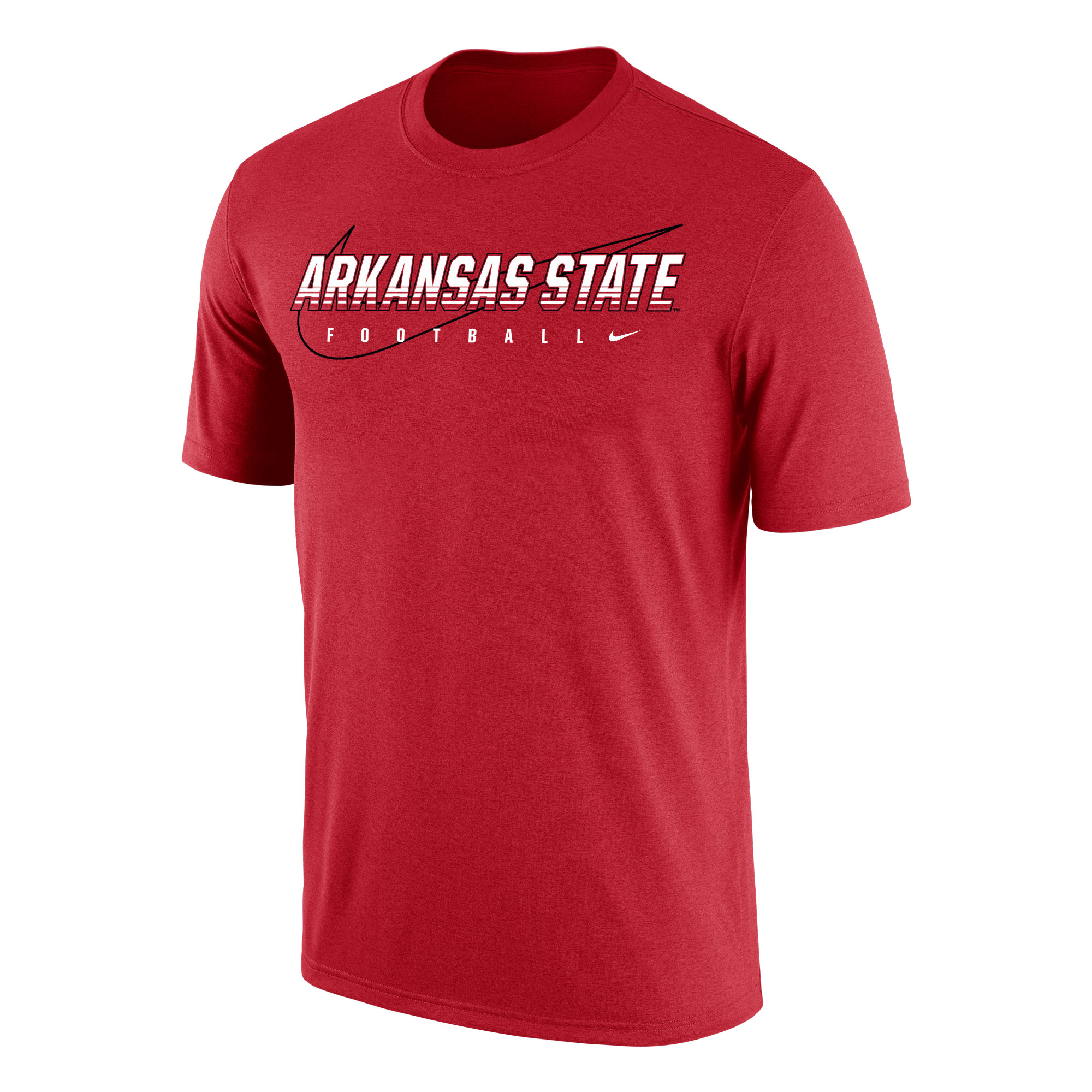 Arkansas State Football Dri-FIT Cotton SS Tee