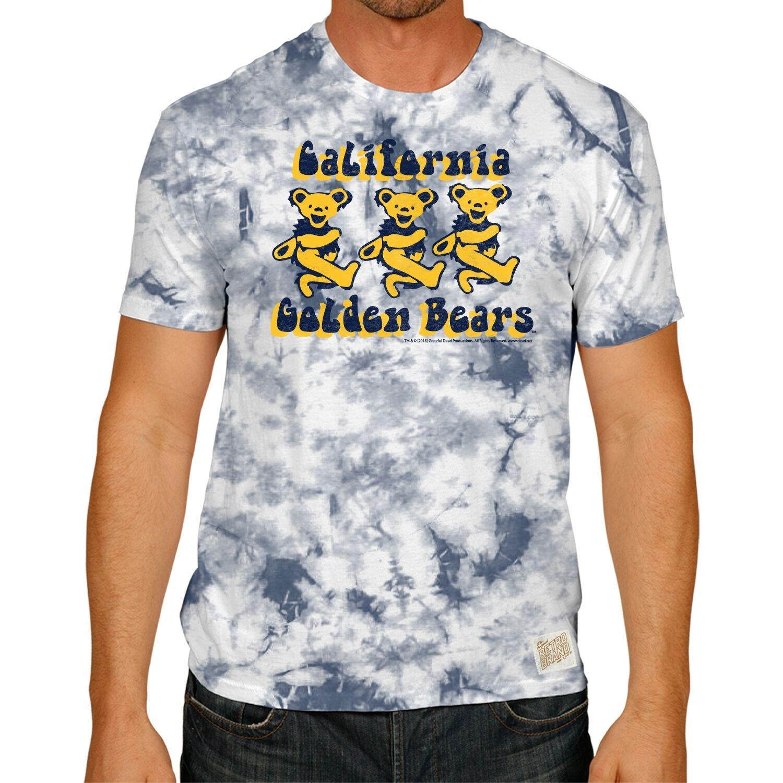 Cal Bears Dancing Bears Tie Dye Tee