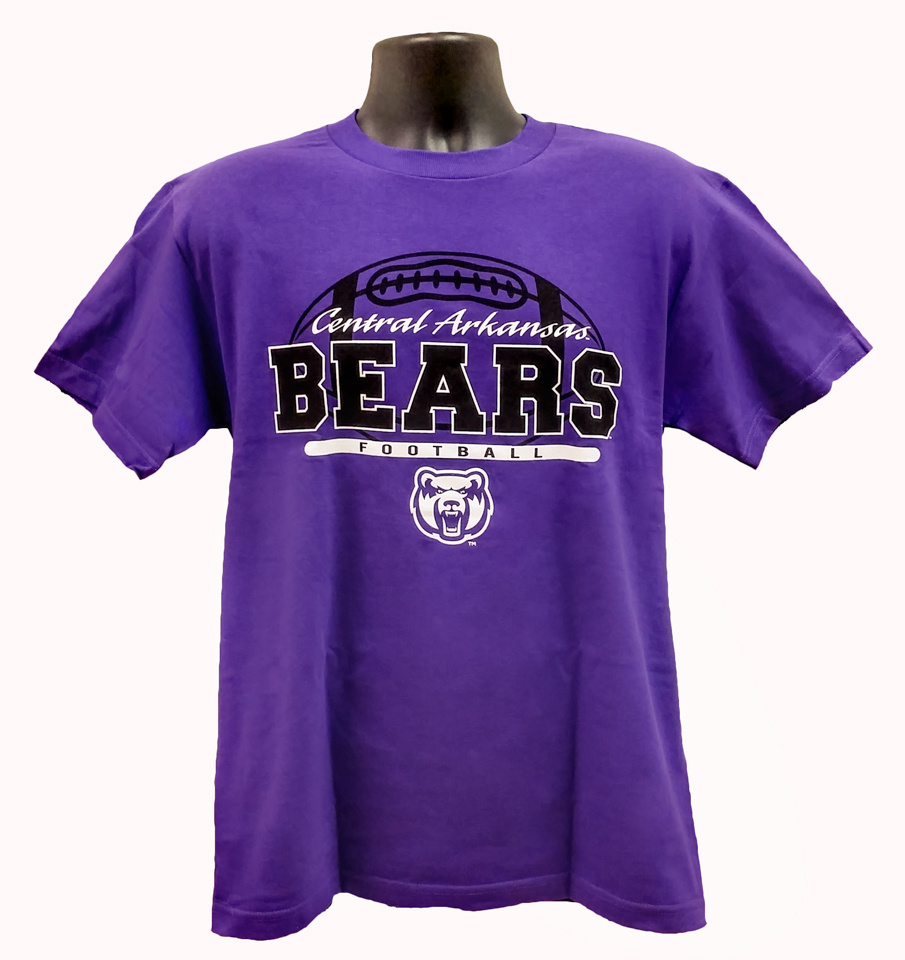 Football Central Arkansas Bears Tee