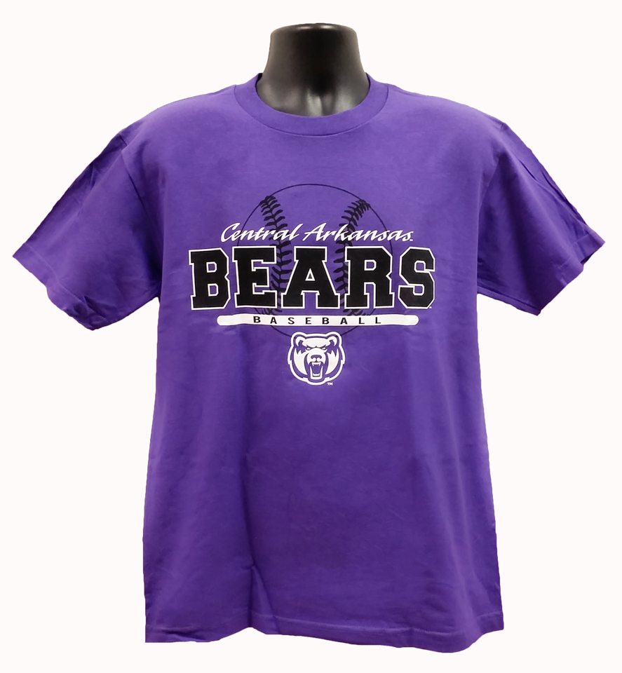 Baseball Central Arkansas Bears Tee