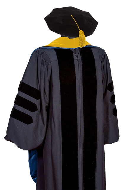 Doctor Gown, Tam, Hood and Tassel