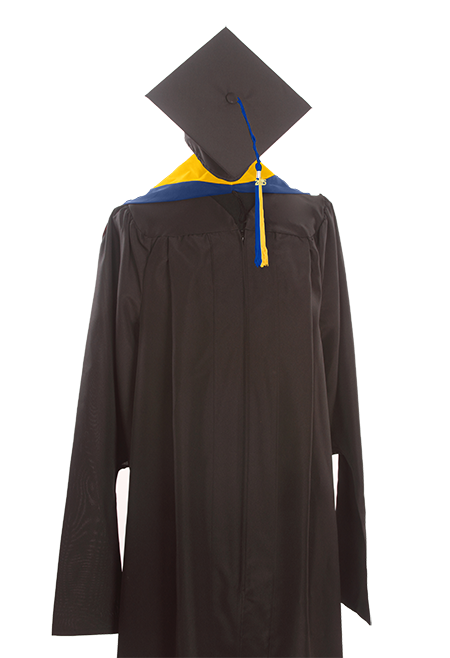 Master Keeper Gown, Cap, Hood and Tassel