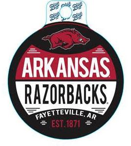 AR Razorbacks Overstrung Sticker