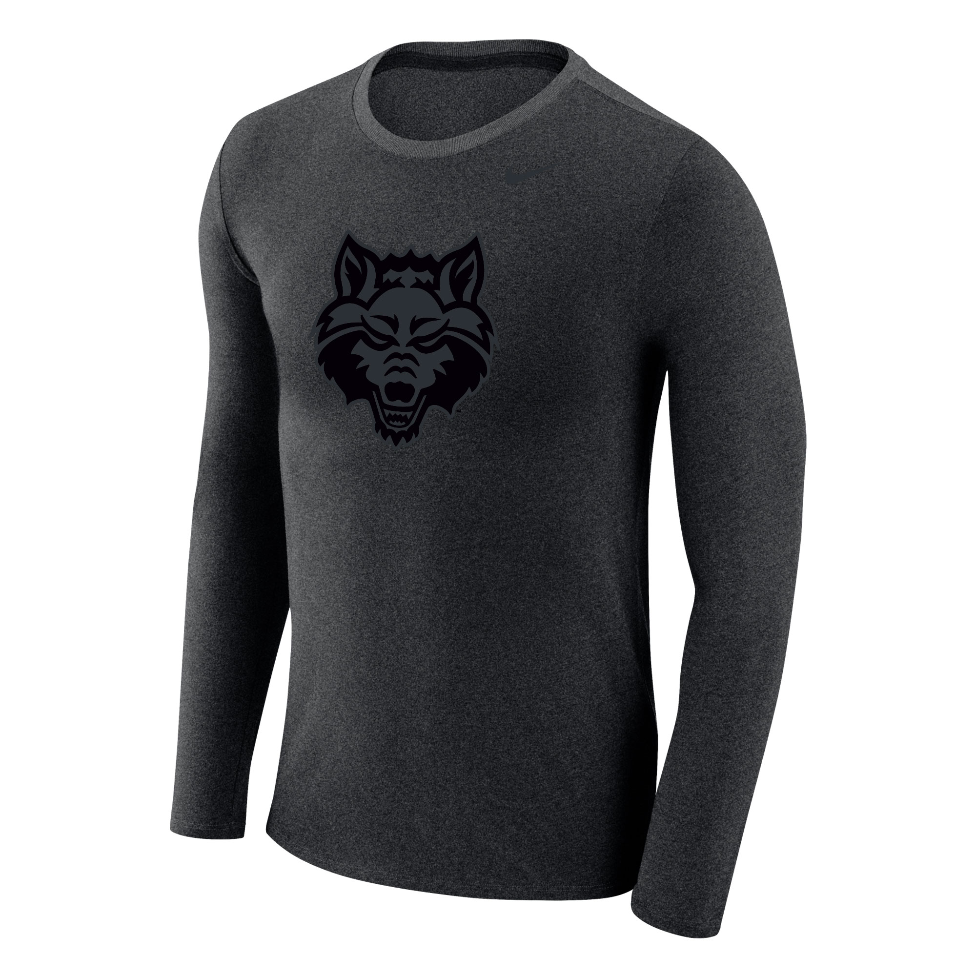 Red Wolves L/S Marled Tee