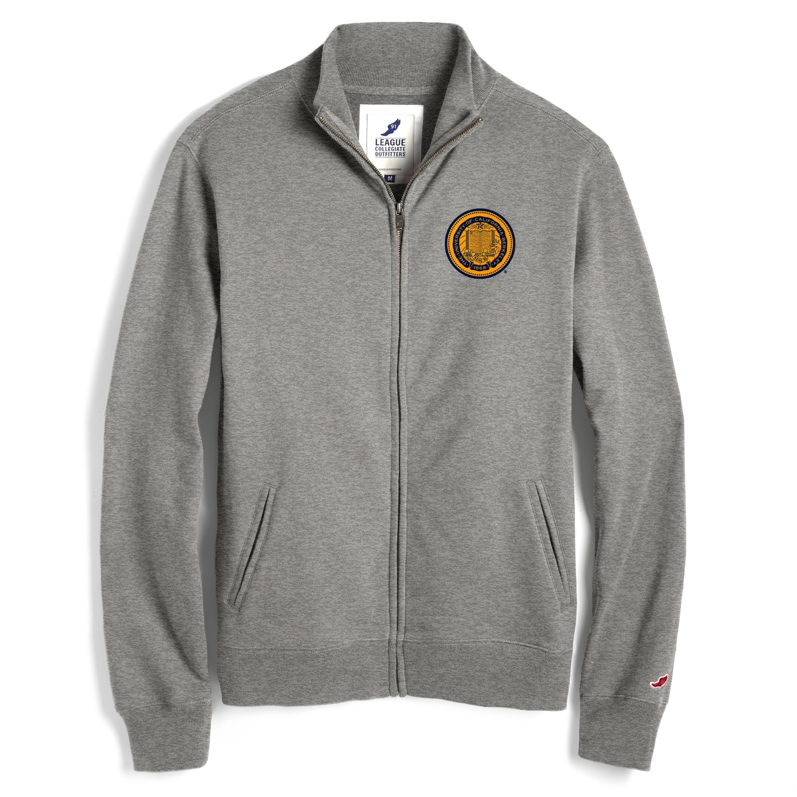 Cal Bears Manchester Track Jacket by League