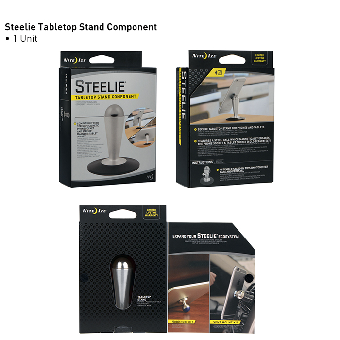 STEELIE TABLETOP STAND COMPONENT