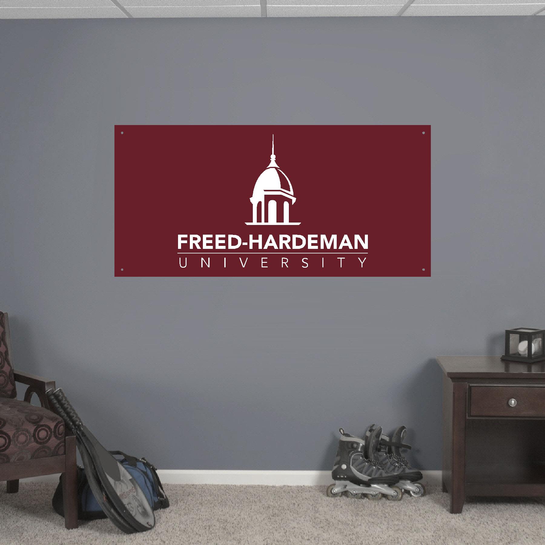 2x4' Freed-Hardeman University Banner