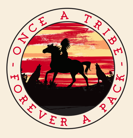 "Once A Tribe Forever A Pack 4"" Decal"