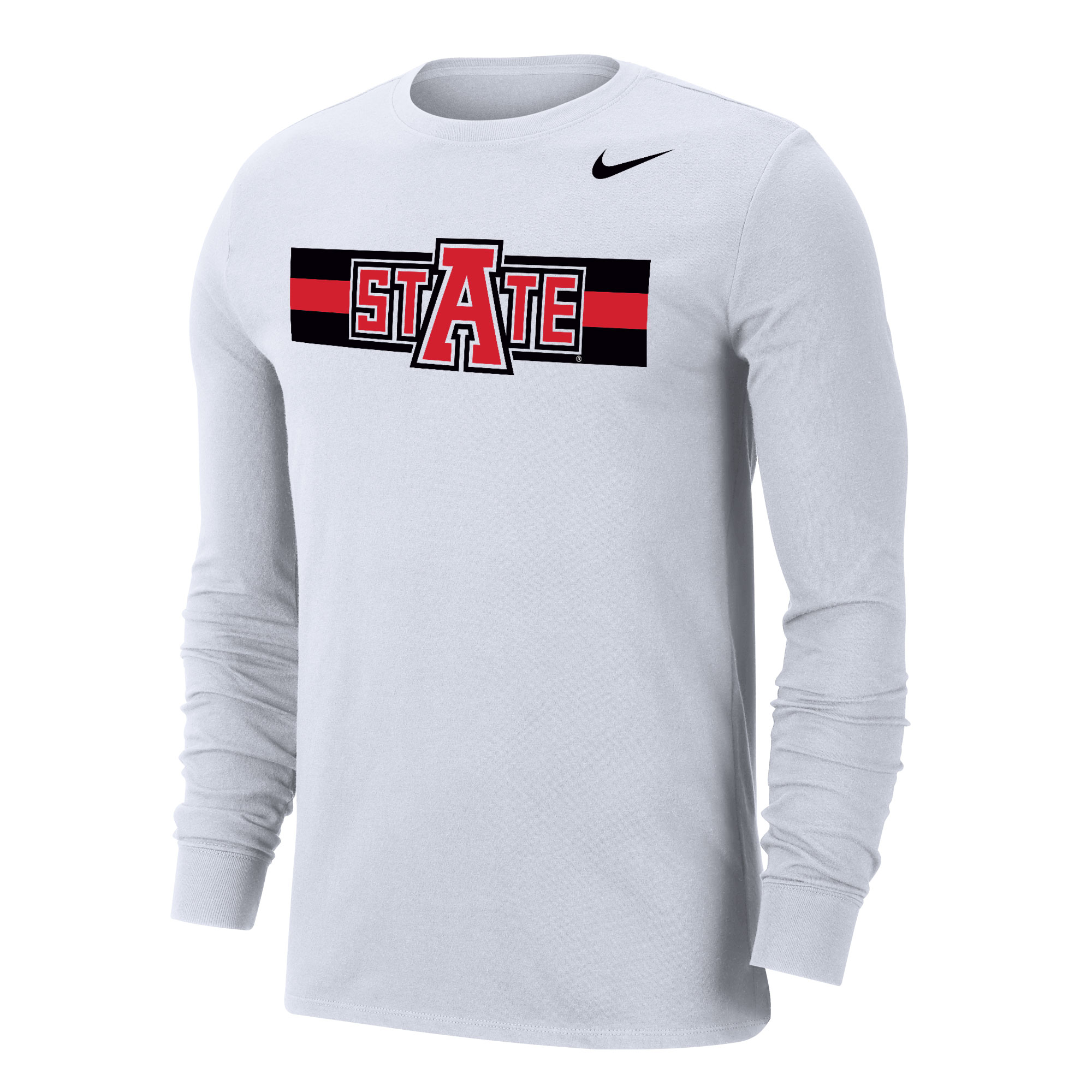 Arkansas State Dri-FIT Cotton LS Tee