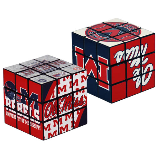 Ole Miss Puzzle Cube