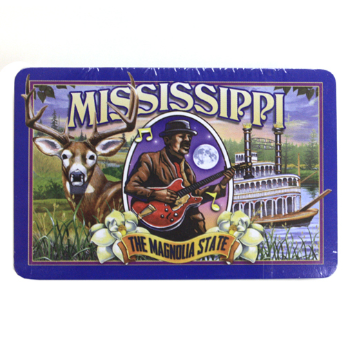 Mississippi Mural Playing Cards